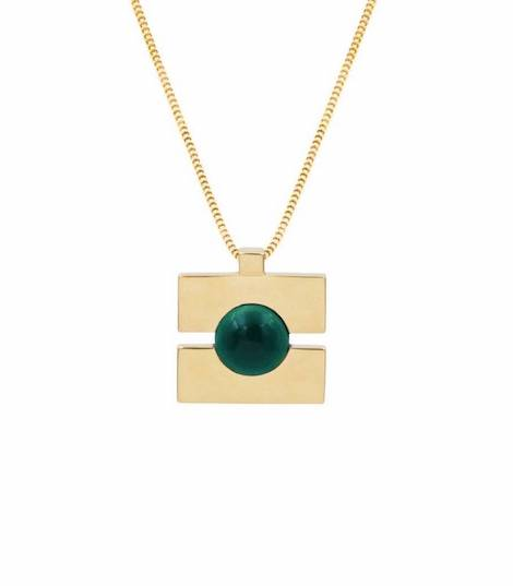 collier-quadrato-or-pierre-malachite-kimsu